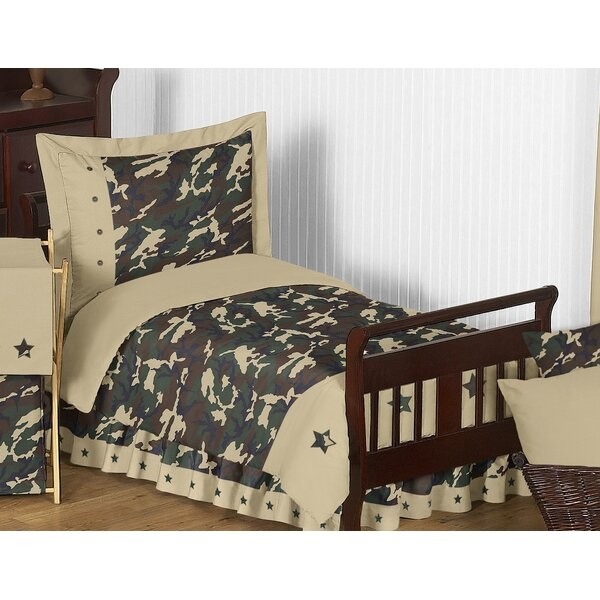 Camo 5 Piece Toddler Bedding Set by Sweet Jojo Designs