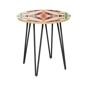 Arana End Table by Bloomsbury Market