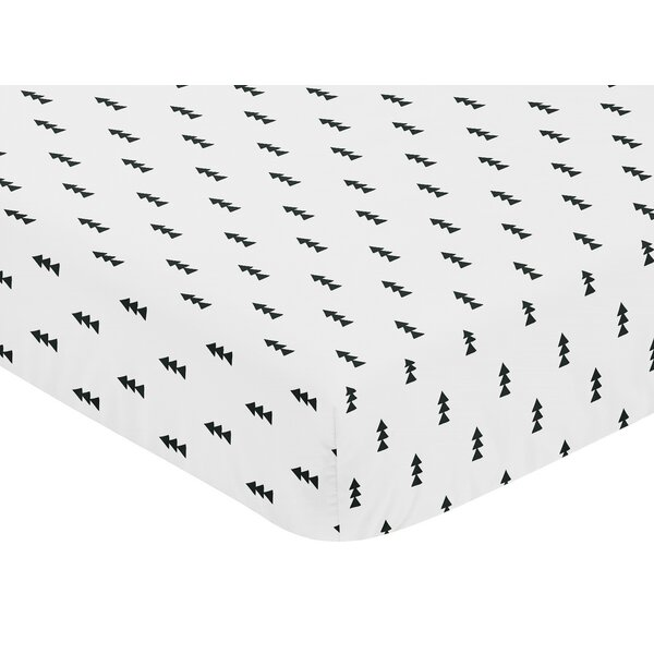 Bear Mountain Fitted Crib Sheet by Sweet Jojo Designs