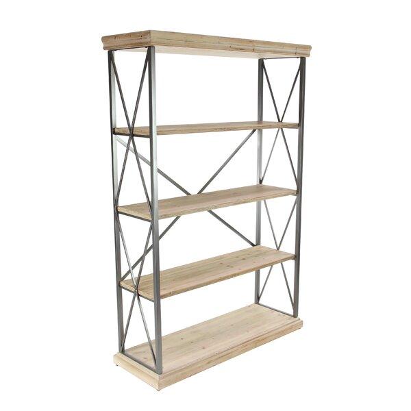 Lykens Modern 4 Tier Etagere Bookcase by Gracie Oaks