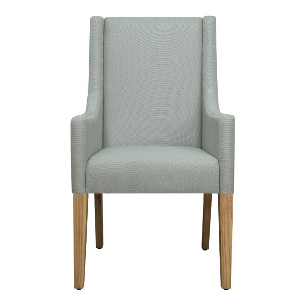 Tighe Seafoam Upholstered Dining Chair (Set of 2) by Wrought Studio