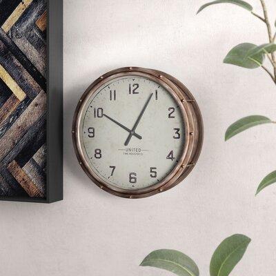 17 Stories Araceli 22 inch Wall Clock