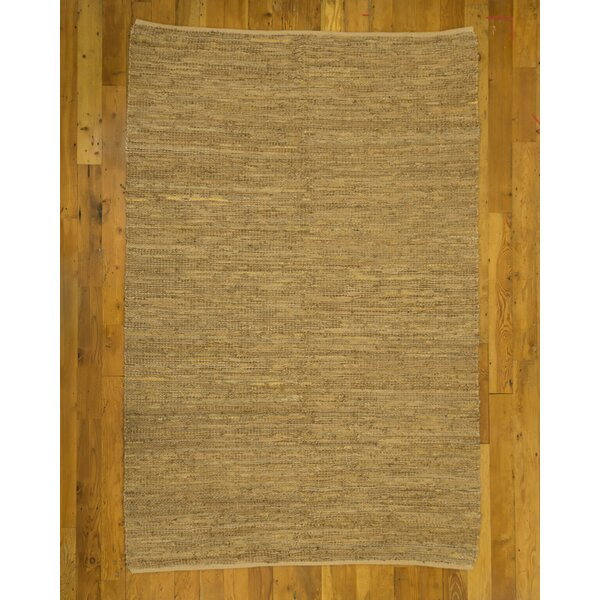 Tamil Jute Hand-Loomed Beige Area Rug by Natural Area Rugs