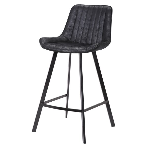Gilder Fabric 26 Bar Stool (Set of 2) by Williston Forge