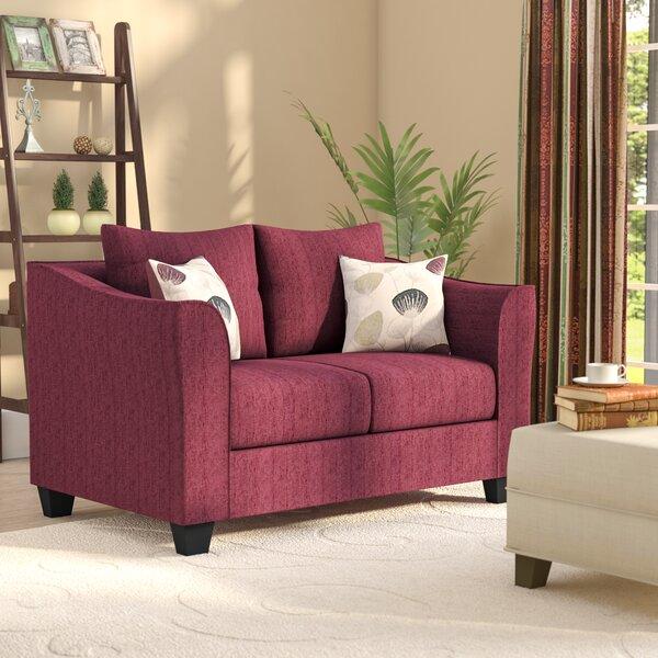 Serta Upholstery Rouse Loveseat by Winston Porter
