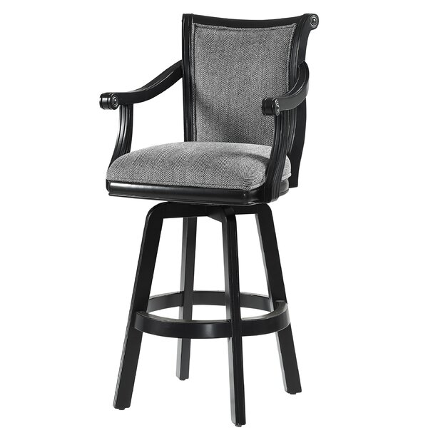 Crisman 31.25 Swivel Bar Stool by Darby Home Co