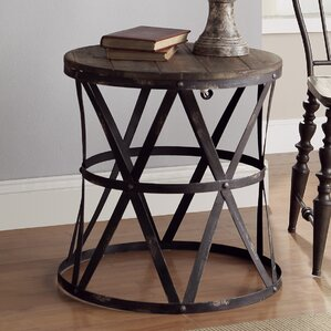Heraldine End Table by Crestview Colle..