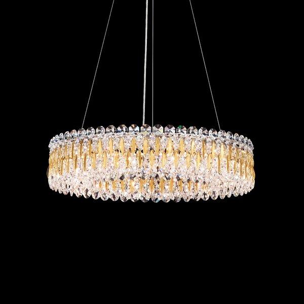 Sarella 12-Light Crystal Chandelier by Schonbek