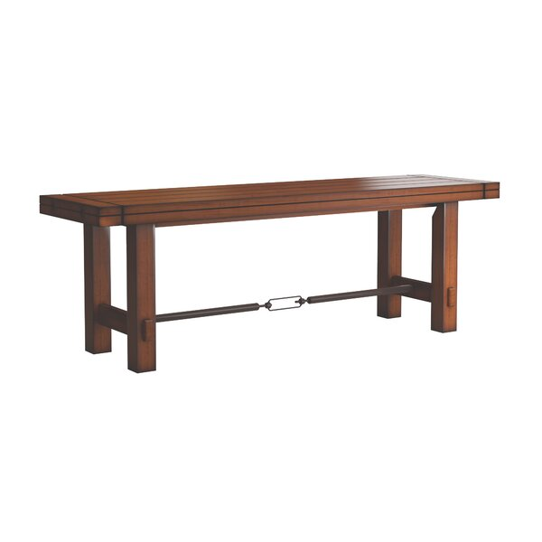 Axton Stretcher Dining Metal Bench by Laurel Foundry Modern Farmhouse