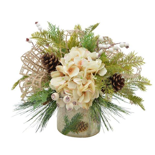 Hydrangea Floral Arrangement by Loon Peak