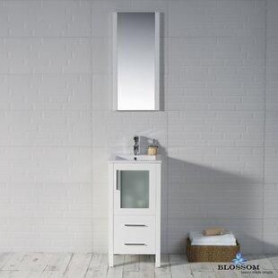 Coupon Mance 16 Single Bathroom Vanity Set with Mirror ByOrren Ellis