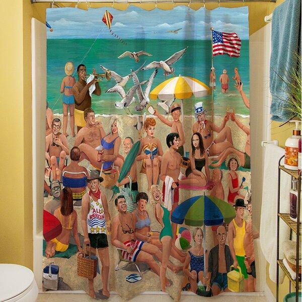 Makarand Qui Shower Curtain by Highland Dunes