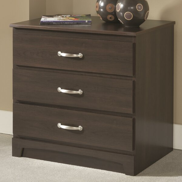 Latricia 3 Drawer Bachelors Chest by Charlton Home