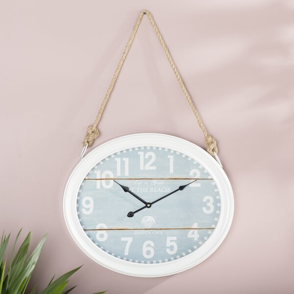 Farrington Circular Wall Clock by Rosecliff Heights