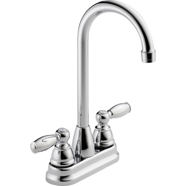 Double Handle Kitchen Faucet by Peerless Faucets