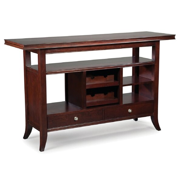 Review Manhattan Flip-Top Console Table