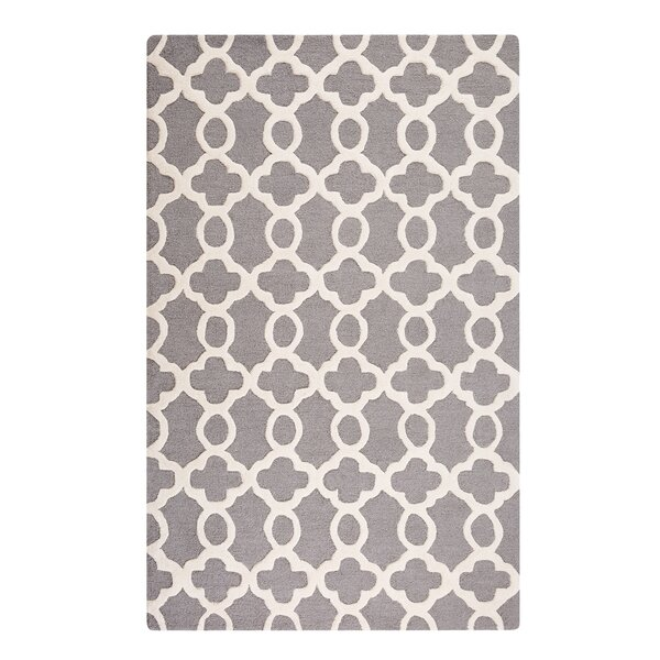Zile Hand-Tufted Gray Area Rug by Home Loft Concepts