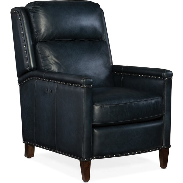 Zen Leather Power Recliner by Hooker Furniture
