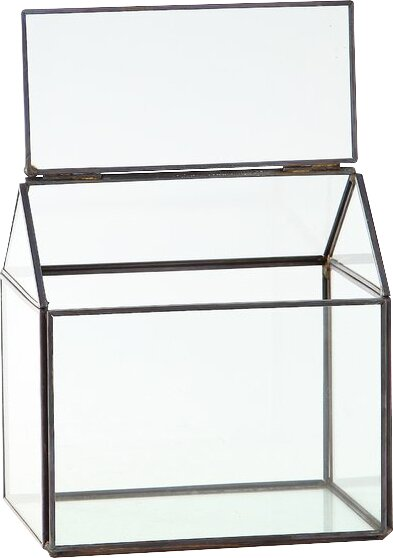 Glass Terrarium by Diamond Star Glass