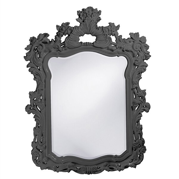 Heenan Feathery Scrolling Accent Mirror by Astoria Grand