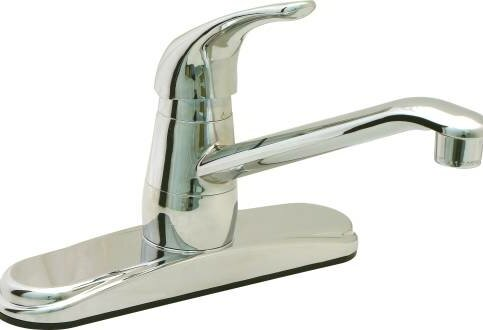 Single Handle Deck Mounted Kitchen Faucet by ProPlus
