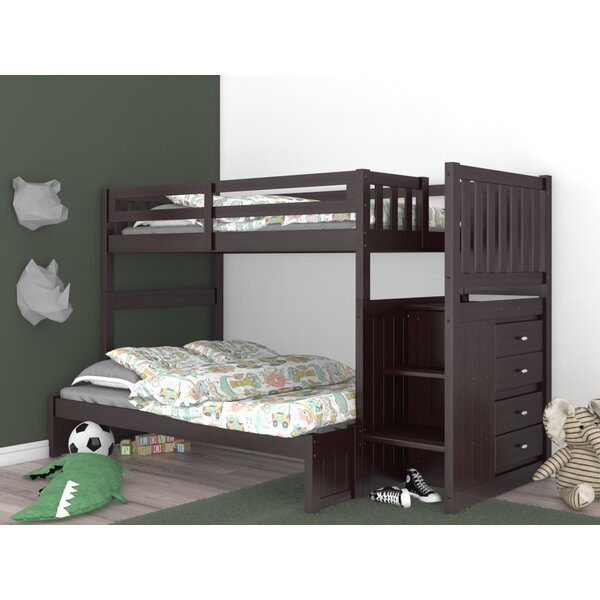 Giuliano Twin Over Full Bunk Bed with Drawers by Birch Lane™ Heritage