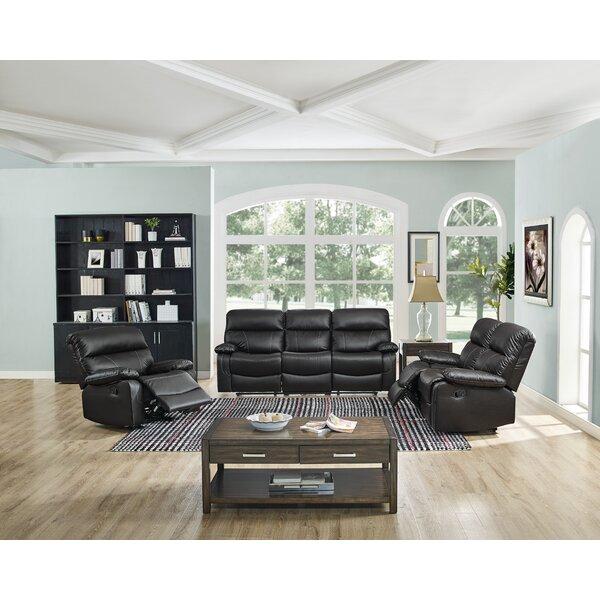 Occoquan 3 Piece Reclining Living Room Set by Ebern Designs