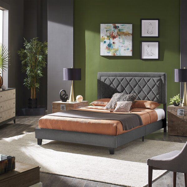 Fontanet Tufted Upholstered Low Profile Platform Bed by Latitude Run Latitude Run