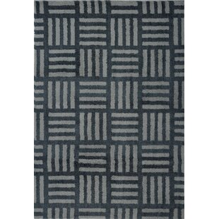 Price comparison Ramey Gray/Black Area Rug ByOrren Ellis