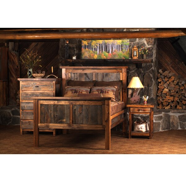 Estela Platform 3 Piece Bedroom Set by Loon Peak