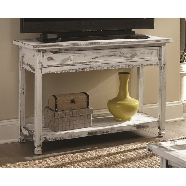 Laurel Foundry Modern Farmhouse White Console Tables