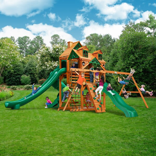 Great Skye II Deluxe Swing Set by Gorilla Playsets