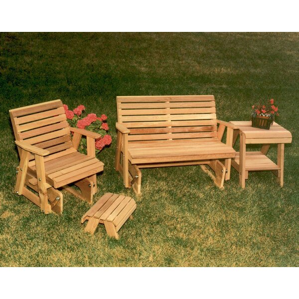 Cedar 4 Piece Conversation Set by Creekvine Designs