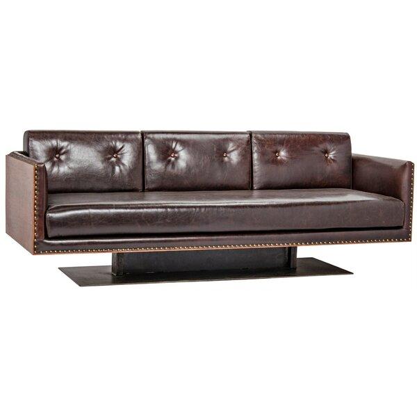 Sabah Leather Sofa by Noir