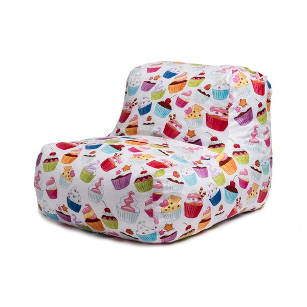 Cupcakes Bean Bag Chair by Zoomie Kids