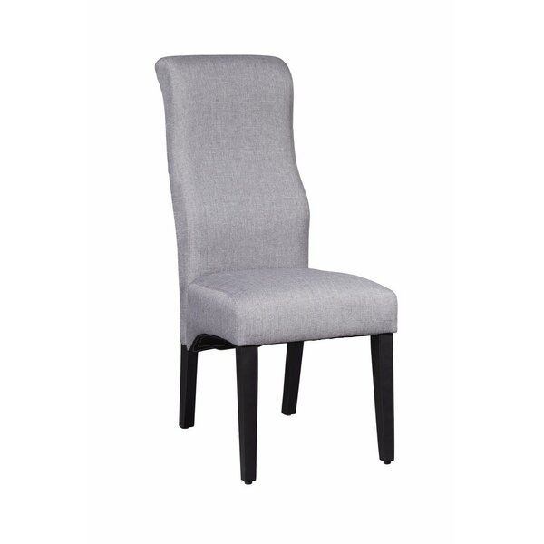 Aroca Transitional Upholstered Dining Chair (Set of 2) by Latitude Run