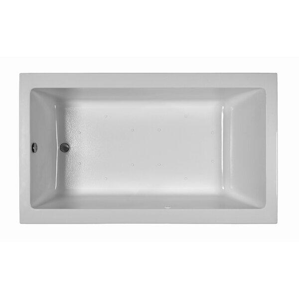 Contemporary 72 x 42  Soaking Bathtub by Reliance