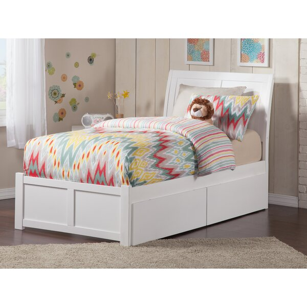 #2 Quitaque Storage Platform Bed By Harriet Bee Read Reviews