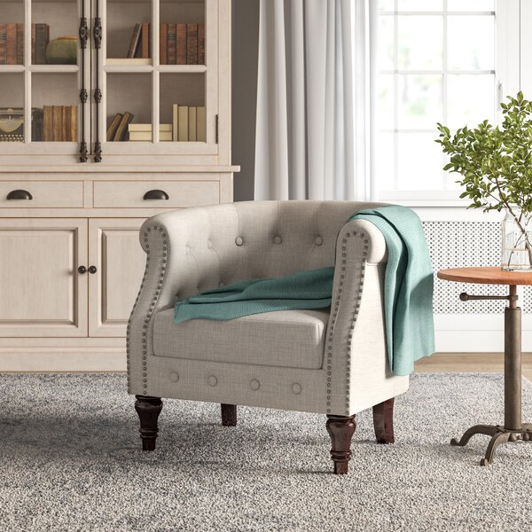 Argenziano 19-inch Chesterfield Chair By Birch Lane™ Heritage