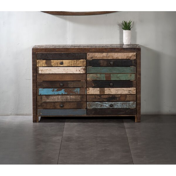 Hatteras 6 Drawer Double Dresser by World Menagerie