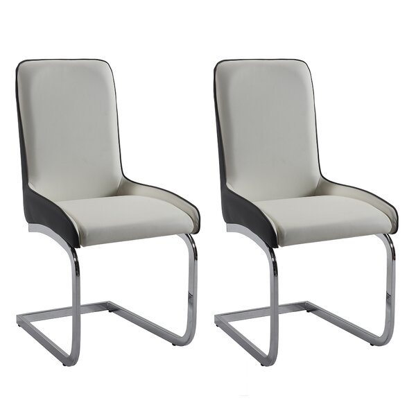 Orianna Upholstered Dining Chair (Set of 2) by Orren Ellis