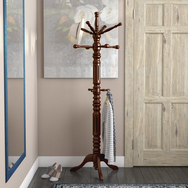 Traditional Coat Rack by Three Posts