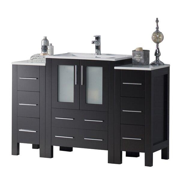 48 Single Bathroom Vanity Base Only