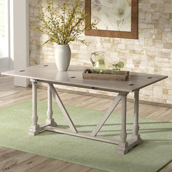 Leisha 60-inch Console Table by Canora Grey Canora Grey