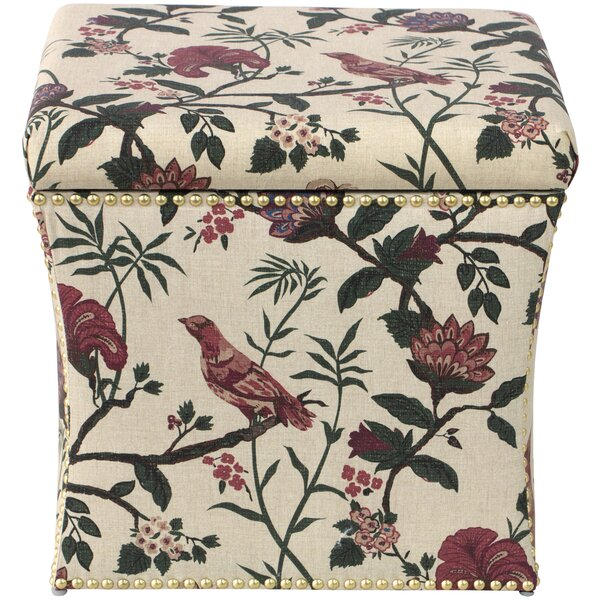 Eliza Cube Storage Ottoman By Darby Home Co