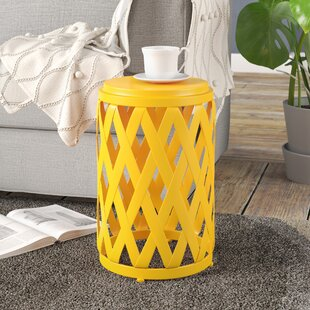 Compare & Buy Ramiro Outdoor Iron End Table By Wrought Studio