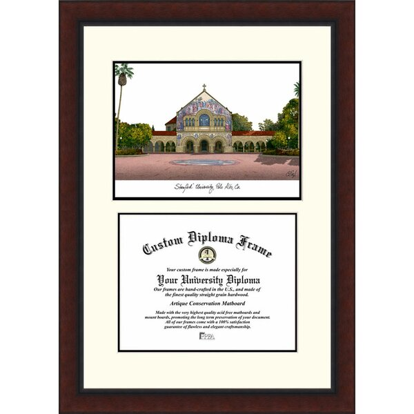 NCAA Stanford University Legacy Scholar Diploma Picture Frame by Campus Images