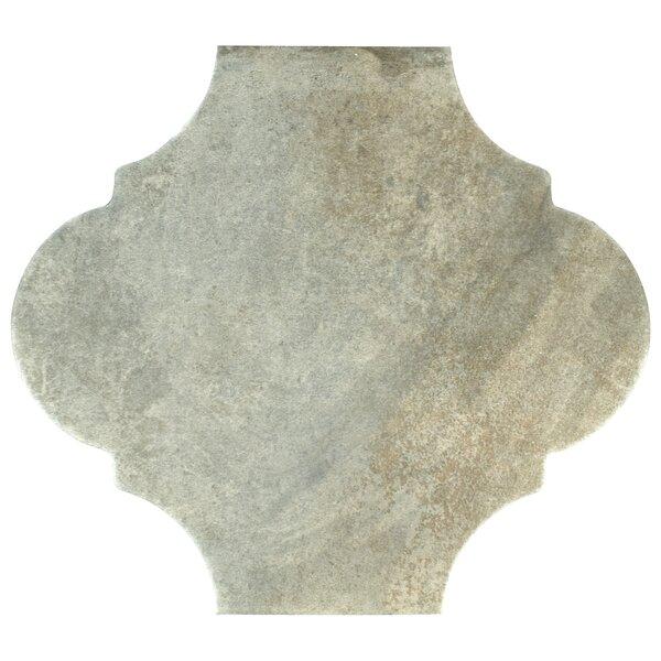 Mezcla 10.38 x 11.38 Porcelain Field Tile in Provenzal Iron by EliteTile