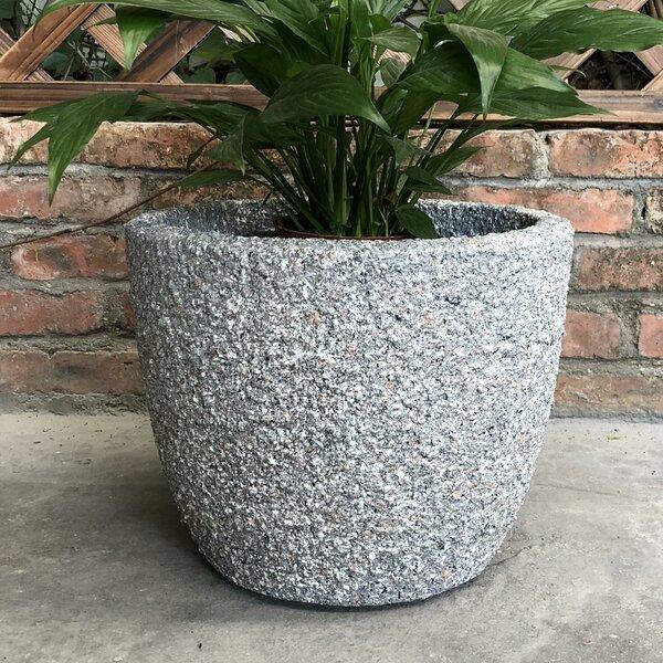 Killian Rough Round Pot Planter by Wrought Studio