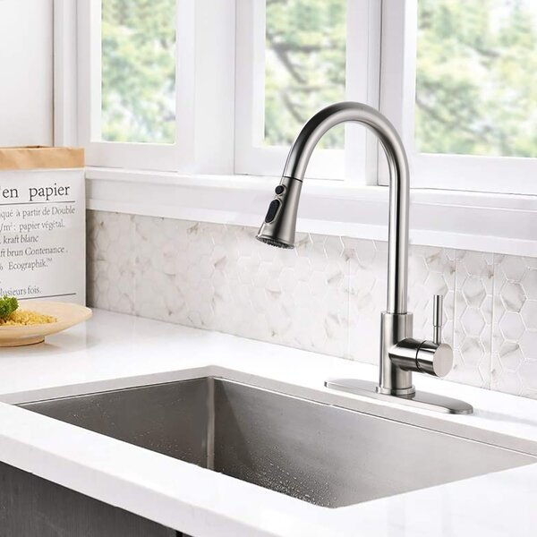 Taloya Pull Down Single Handle Kitchen Faucet